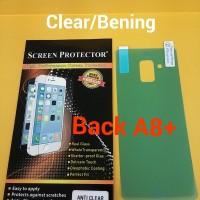 Anti Gores Back Clear Bening Samsung Galaxy A8 Plus Belakang A8+ 2018