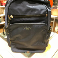 fossil travis backpack navy