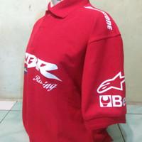 Polo shirt Men/ Kaos Kerah/ Kaos Polo/ Honda CBR Repsol