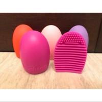 brush egg / pembersih kuas / brush cleaner / brush egg & cleaner