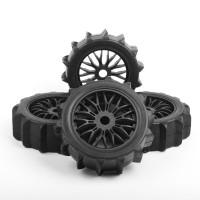 Rc Car 1:8 Ban/Velg/Tyre/Tire KFORCE RACING 1/8 Buggy 2pcs