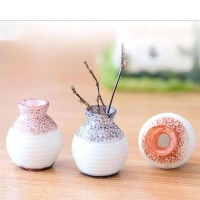 Miniature Pot Bunga bahan dekorasi terrarium bahan clay flower