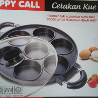 HAPPY CALL CETAKAN KUE 7 LUBANG