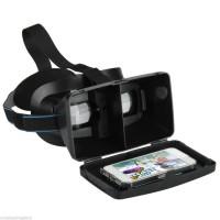 Google VR 3D CardBoard Plastic Second Generation 3D Virtual Murah