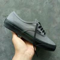 Sepatu Vans Authentic Grey Sol Black Waffle DT ICC Premium China