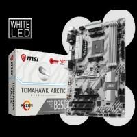 Motherboard MSI B350 TOMAHAWK ARCTIC AMD Socket AM4 DDR4 Terbaru