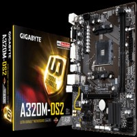 Motherboard Gigabyte GA-A320M-DS2 AM4,A320,DDR4,USB3.1,SATA3 Terbaru