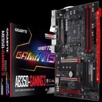Motherboard GIGABYTE GA-AB350-Gaming 3 AM4,B350,DDR4,USB3.1 Terbaru