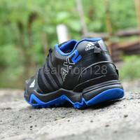 Diskon Sepatu Outdoor Adidas AX2 Goretex Hitam Biru Sport Running Pri
