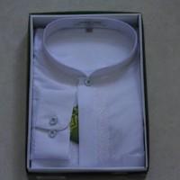 Baju Koko Atlas Bamus Universal Warna Putih - E76