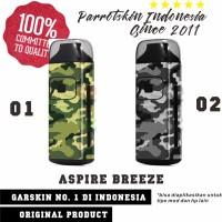 Garskin Aspire Breeze kit mod vape camo army edition - free custom