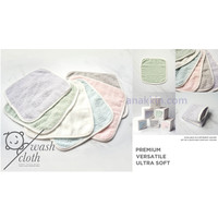 Palmerhaus Wash Cloth - Isi 4 / handuk bayi / handuk kecil / lap kecil
