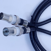 kabel loop out antena set top box male to female 0.5 m