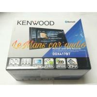 HEAD UNIT MOBIL DOUBLEDIN BLUETOOTH KENWOOD DDX 417 BT BY LEMANS AUDIO