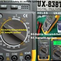 HELES UX-838TR Multitester Avometer Digital Multimeter 838 TR MULTI