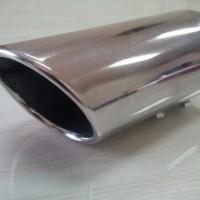 Buntut Knalpot Muffler Extention Model Miring Datsun Go 6 Cm