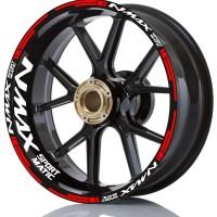 stiker velg motor wheel sticker yamaha Nmax 155 sport matic ring 13