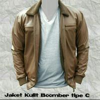 jaket kulit pilot perang bomber