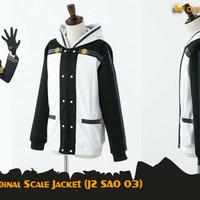 Jaket Anime Sword Art Online Kirito Cosplay Jacket Hoodie (JZ SAO 03)