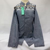 Baju Muslim Anak Jasko Jas Koko Songket Lengan Panjang Baru JAP 032