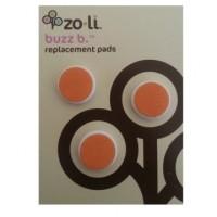 NEW Zoli Buzz B Oranye- Replacement Pads Orange 12m+