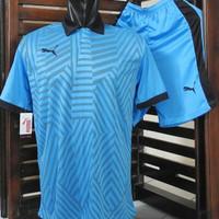 Kaos Setelan Futsal Puma Berkerah / Jersey Bola / Baju Tim Olahraga