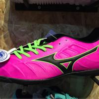 Sepatu futsal mizuno original Rebula V3 in Pink Glow/Black new 2017