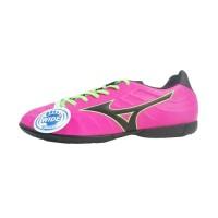 Diskon Sepatu Futsal Original Mizuno Rebula V3 IN Pink Glo Black BNIB