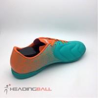 Sepatu Futsal Specs Original Equinox IN Comfrey Green Orange 400712