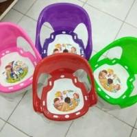 Bangku Kursi Anak Plastik Bongkar Pasang Warna