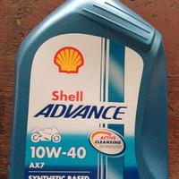 Oli Shell Advance AX7 0.8L