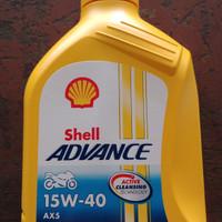 Oli Shell ADVANCE AX5 0.8 L