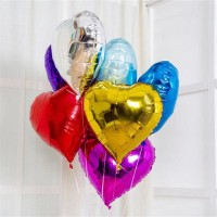 Grosir Balon Foil Hati Love / Balon Love 45 cm / Hati / Heart Polos
