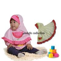 Jilbab Bayi / Jilbab Baby / Hijab Bayi / Hijab Baby 6-18 Bulan B-09