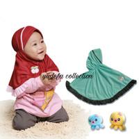 Jilbab Bayi / Jilbab Baby / Hijab Bayi / Hijab Baby 6-18 Bulan B-11