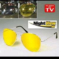 Kacamata night view anti glare HD ASK Vision 1pc