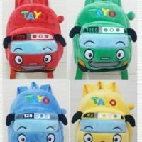 Tas Ransel Anak Boneka Tayo The Little Buss Import
