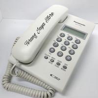 Telepon Kabel Panasonic KX-T7703 (Putih) Pesawat Telepon Rumah T7703