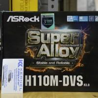 ASRock Intel Motherboard H110M-DVS R3.0