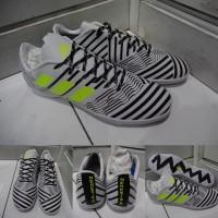 Sepatu Futsal Adidas Nemeziz 17+ 360 Unlock Agility IC White Black