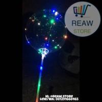Stick Balon / Stik Balon / Pegangan Balon Bening Panjang (70cm)