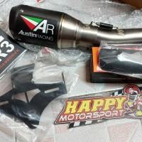 Knalpot austin AR racing original khusus CBR250RR