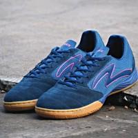 Sepatu Futsal Specs Metasala Rival - Galaxy Blue/Mango Orange/Gum