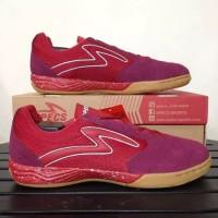 Sepatu Futsal Specs Metasala Rival - Chestnut Red/Riviera Blue/Gum