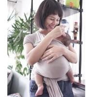 GENDONGAN BAYI HANAROO BABY WRAP POLOS NYAMAN CARRIER KADO HADIAH GIFT