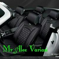 sarung jok mobil kulit mbtech high quality HR-V All new vios jazz brio