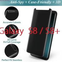 Anti spy Samsung S8 plus / Anti gores hitam S8 plus