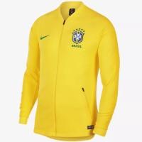 Original Nike Brazil Brasil Jaket Jersey Baju Bola Pria Anak Murah Gym