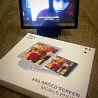 Kaca Pembesar Layar HP / Enlarged Screen Handphone
