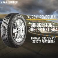 Ban Mobil SUV Bridgestone DUELER 265/65 R17 D-684 *KUPON*